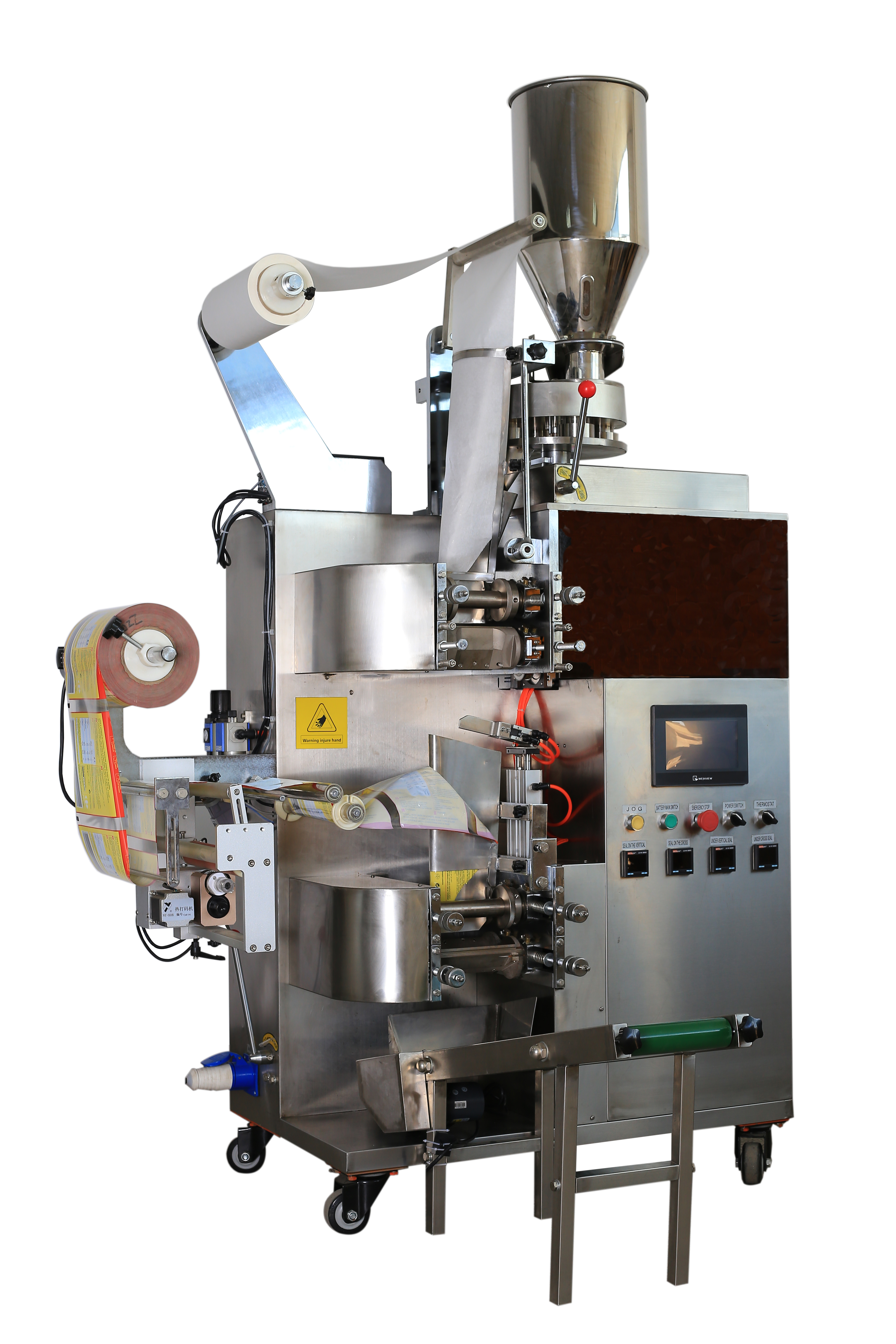 TEABAG INNER AND OUTER BAG PACKING MACHINE